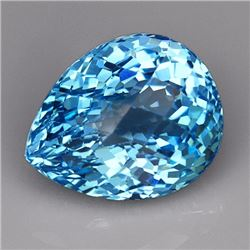 Natural Swiss Blue Topaz 33.25 carats - VVS