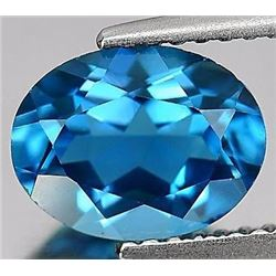 Natural London Blue Topaz 24.23 carats- Flawless