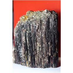 Natural Collectors Rare Black Tourmaline with Mica