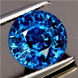 Natural Combodian Rare Blue Zircon 4.01 Ct - VVS