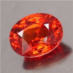 Natural  Orange Spessartite 1.45 ct (7.3 x 5.6 mm) -VVS
