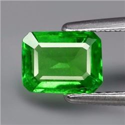 Natural Green Tsavorite Garnet 1.07 Cts