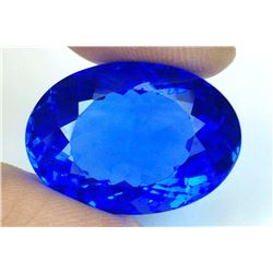 Kashmir Blue Tanzanite Quartz 31.25 carats