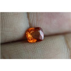 Natural Fire Orange Cushion Sapphire 1.20 Carats