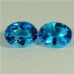 Natural London Blue Topaz 36.50 carats - AAA