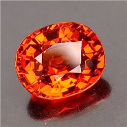 Natural Mandarin Spessartite 2.06 ct - VVS