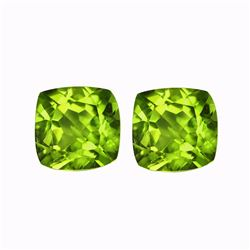 Natural Peridot Pair 3.61 cts - VVS