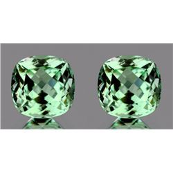 Natural Healing Green Amethyst Pair 7.90 Cts - VVS