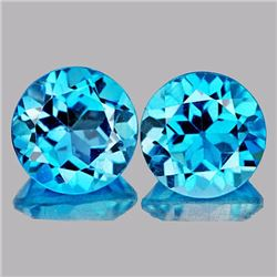 Natural Swiss Blue Topaz 8.48 carats - Flawless