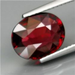 Natural Cherry Red Rhodolite Garnet 3.68 Cts