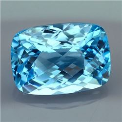 Natural Swiss Blue Topaz 41.14 carats - VVS