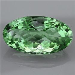 Natural Healing Green Color Amethyst 28.90 Cts - VVS