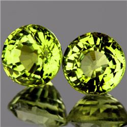 Natural Canary Yellow Mali Garnet Pair 5.00 MM - VVS