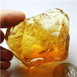 Natural Citrine Gemstone Rough 482.25 carats