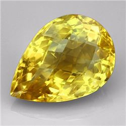 Natural Lemon Citrine Gemstone 21.75 Carats - VVS