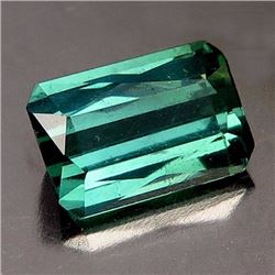 Natural Green blue tourmaline 1.50 cts - VS
