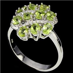 Stunning Natural Peridot Ring