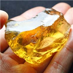 Natural Citrine Gemstone Rough 225 carats