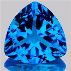 Natural Swiss Blue Topaz 12.48 Carats - VVS