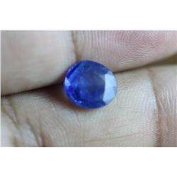 Natural Blue Ceylon Sapphire 3.14 Cts - EGL Certified