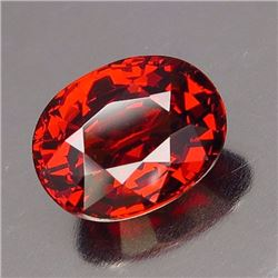 Natural Orange/Red Spessartite 2.70 ct - VVS