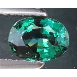 Intense Green Oval Sapphire 1.72 Carats - VS