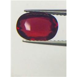 Natural Vivid Red Ruby 3.02 Carats - Flawless