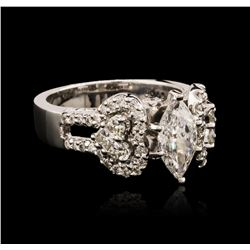 18KT White Gold 1.83 ctw Diamond Ring