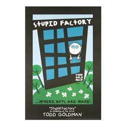 Stupid Factory, Where Boys Are Made! by Goldman, Todd