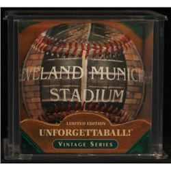 Unforgettaball!  Cleveland Municipal  Collectable Baseball