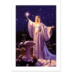 The Ring Of Galadriel by Greg Hildebrandt