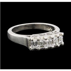 0.75 ctw Diamond Ring - Platinum