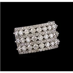 14KT White Gold 2.59 ctw Diamond Ring