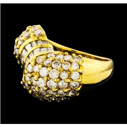 2.82 ctw Diamond Ring - 18KT Yellow Gold