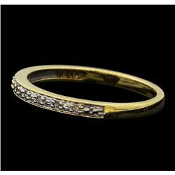 0.10 ctw Diamond Ring - 10KT Yellow Gold
