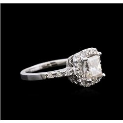 1.82 ctw Diamond Ring - 14KT White Gold