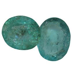 4.87 ctw Oval Mixed Emerald Parcel