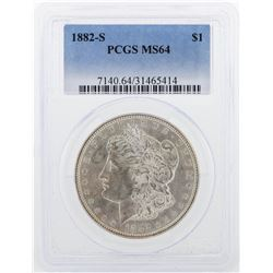 1882-S PCGS MS64 Morgan Silver Dollar