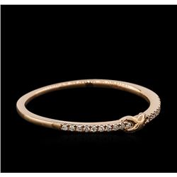0.05 ctw Diamond Ring - 14KT Rose Gold