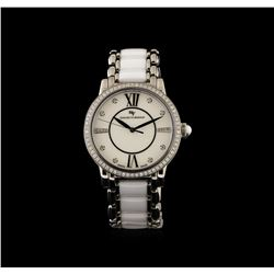 David Yurman Stainless Steel 1.10 ctw Diamond Classic Watch