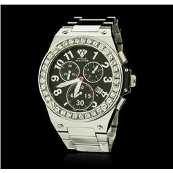 Aqua Master Stainless Steel Diamond Watch