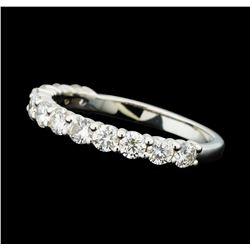 0.96 ctw Diamond Band - 14KT White Gold