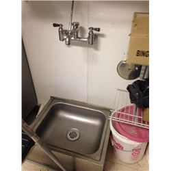 stainless steel mop sink 24.5 x 19 and Mop Faucet