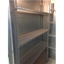 Wire Shelving with Epoxy coat 14x60- 4 tier
