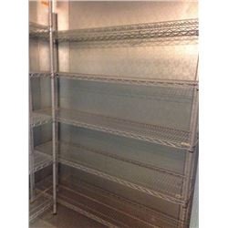 Wire Shelving with Epoxy coat 14x60 - 5 tier