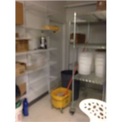 White Wall Shelves regular duty  large SYSTEM