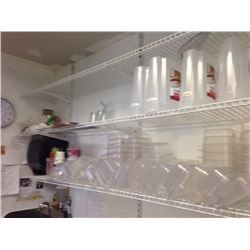 White Wall Shelves regular duty  System for over table in kitchen