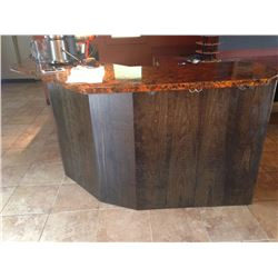 Copper top bar - disassembled in 3 main sections