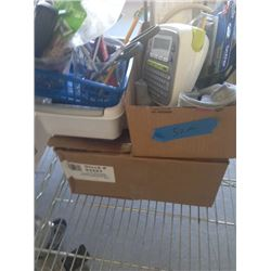 OFFICE SUPPLIES WITH CREDIT CARD PAPER AND BROTHER LABEL PRINTER