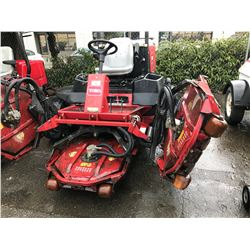 TORO 4500D GROUNDSMASTER 4 WHEEL DRIVE 63HP TURBO 5 DECK ROTARY MOWER
